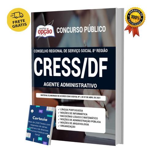 Apostila Agente Administrativo Concurso Cress Df