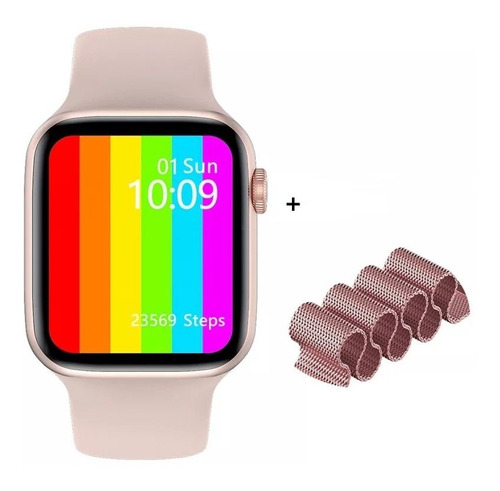 Smartwatch Relógio Inteligente F10 44mm Bluetoot Ios Android
