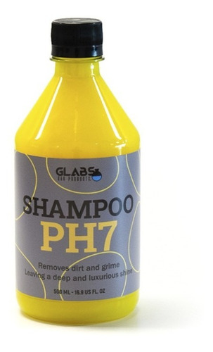 Shampoo Ph7 Neutro Sin Cera Glabs