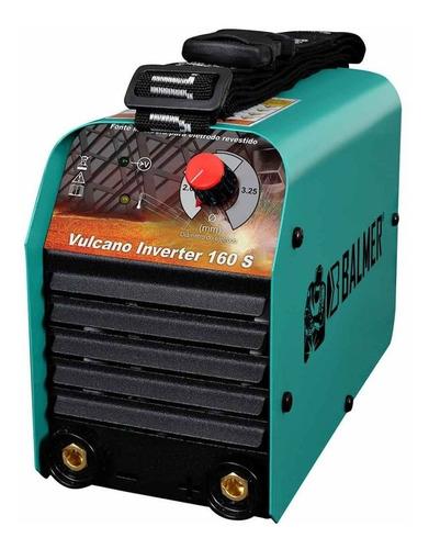 Maquina Inversora De Solda Mma, Eletrodo 160s Balmer 220v