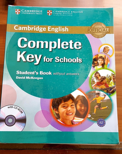 Complete Key For Schools - Student's Book Y Workbook