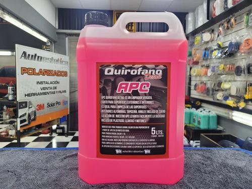 Apc Quirofano 5 Litros Limpia Tapizados Y Cueros Apto Maquin