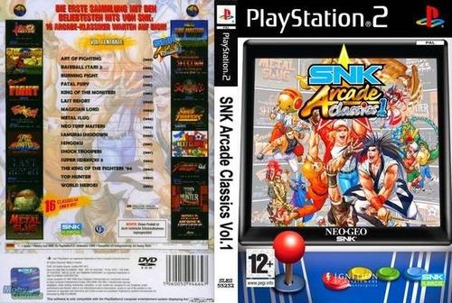 Snk Arcade Classics Vol. 1 - Ps2 - Frete R$ 17