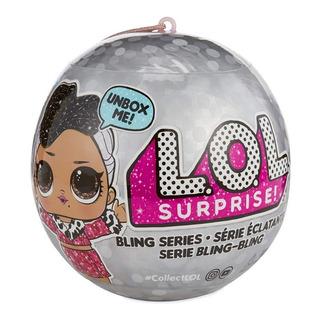 Muñeca Lol Surprise Bling Doll Sorpresas Original Wabro