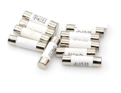 Kit 10 Peças Fusível Proteção Solar 10a 12a 15a 16a 20a 25a 30a Dc 1000v Cerâmico 10x38mm
