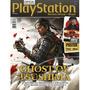 Revista Superpôster Playstation Ghost Of Tsushima