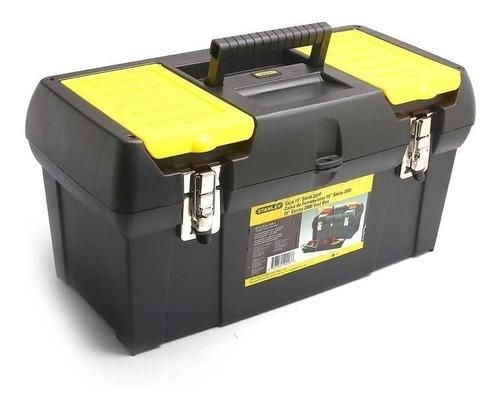 Caja De Herramientas Stanley 19-013 De Plástico 260mm X 489mm X 248mm Negra