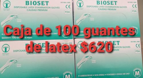 Guantes De Latex  El Par 20$