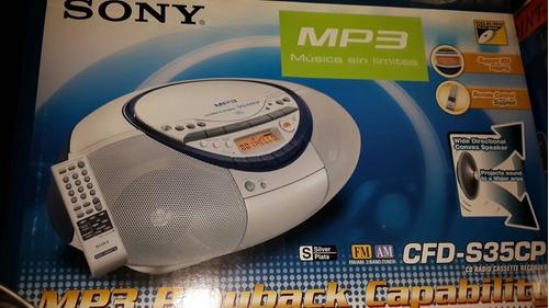 Radio Sony Nuevo Cd-r/rwplayback Cfd-s35cp Remote Control