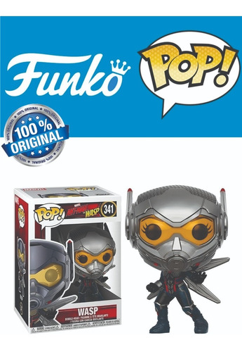 Funko Pop Marvel 341 Ant Man And The Wasp