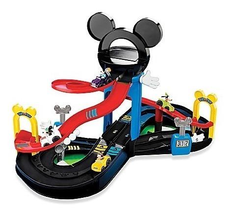 Disney Mickey Motors Raceway Playset A Casa Do Mickey Mouse