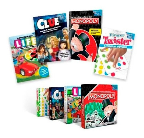 Clarín Colección Juegos De Mesa Hasbro Gaming