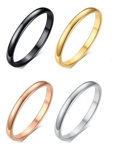 Aliança Anel Tungstênio 3mm Casamento Compromisso