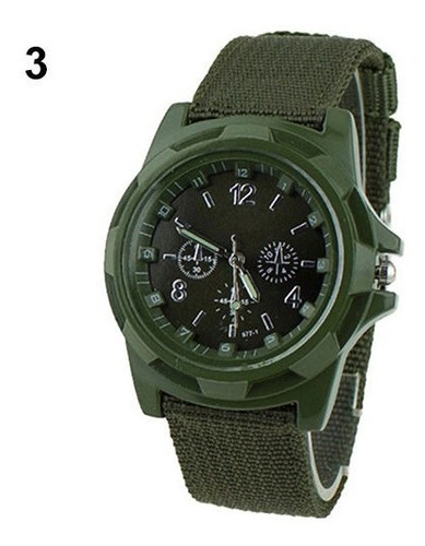 Relógio Masculino Militar Exército Analógico De Pulso