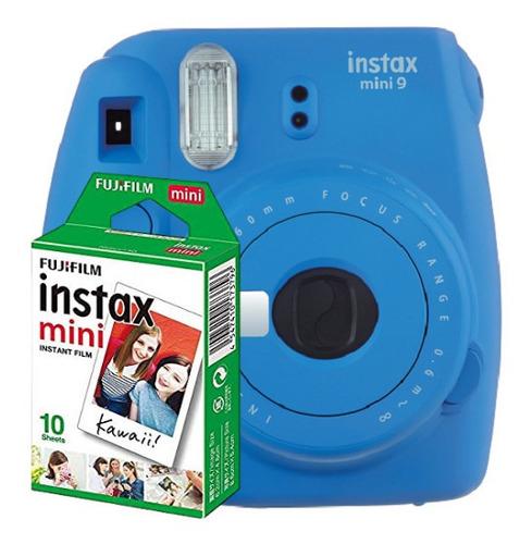 Câmera Instax Mini 9 + Filme 10 Fotos