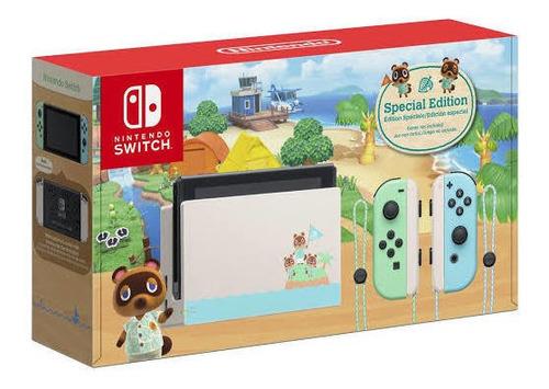 Nintendo Switch Animal Crosing Bateria Extendida.