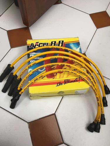 Cables De Bujía Accel Competición Motor Vw Gol Ap