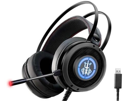 Headset Gamer Ars6 K-mex Com Led Usb 7.1 Digital Surround
