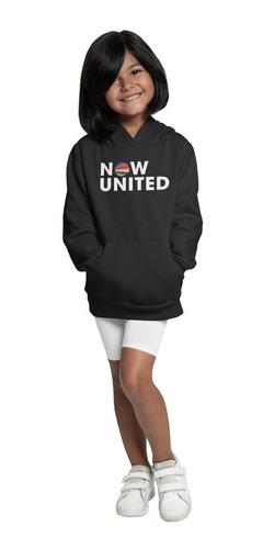 Moletom Infantil Now United Grupo Blusa Agasalho De Frio Top