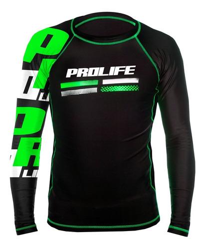 Camisa Surf Lycra Rashguard Prolife Jetski Crossfit Luta Uv