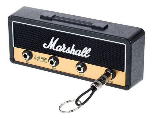 Porta Llaves Tipo Amplificador Llavero 4 Plugs Guitarra