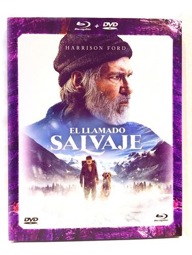 El Llamado Salvaje Bluray + Dvd Harrison Ford Nuevo