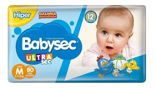 Fralda Babysec Galinha Pintadinha Pacotão Tam. M, G, Xg.