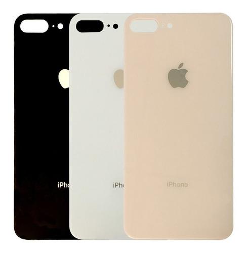 Tapa Glass Vidrio Trasero iPhone 7 Y 8 Normal Y Plus