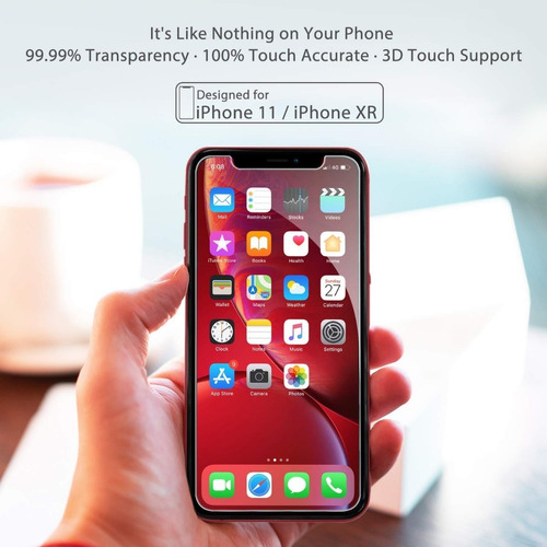 Protector Pantalla iPhone 11 / Xr Vidrio Templado Tienda Fis