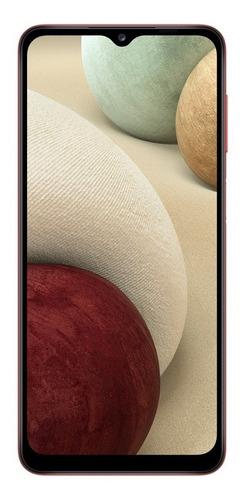 Smartphone Samsung Galaxy A12 Tela 6.5 64gb 4gb Ram Verm