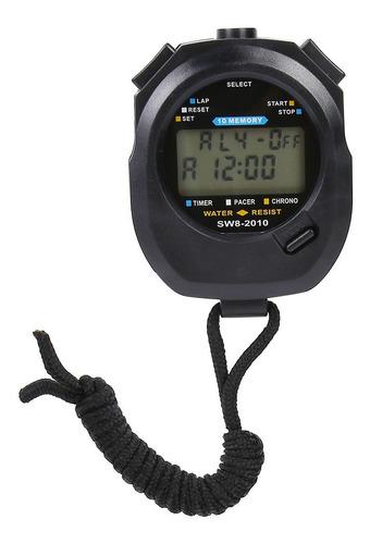 Temporizador Profesional, Cronómetro Impermeable, Cuenta Atr