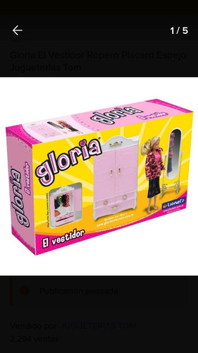 Muebles Gloria/barbie
