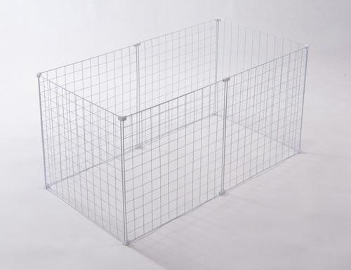 Cercadinho Para Cachorro Pequeno Porte Tela Aramada 60x120