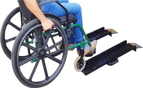 Rampa Degrau Para Cadeira De Rodas 2 Pç Mod: Rda 750/165 Ac