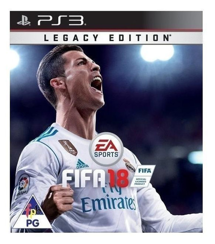 Fifa 18 Legacy Edition Electronic Arts Ps3 Digital