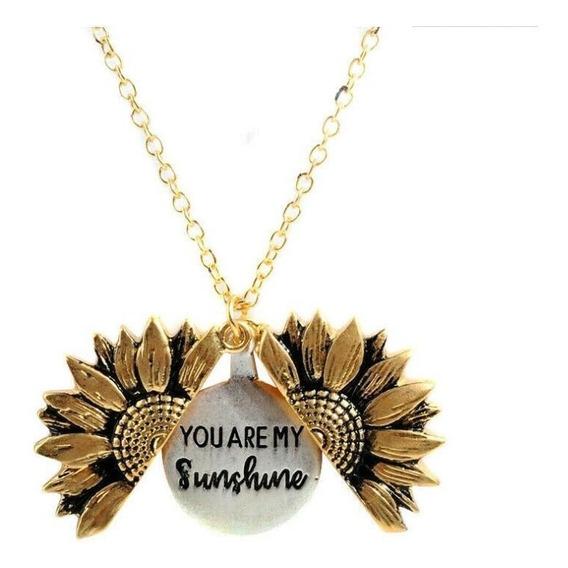 Collar You Are My Sunshine + Cajita De Regalo!