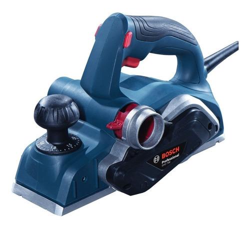 Plaina Elétrica Manual Bosch Professional Gho 700 82 Mm 110v Azul