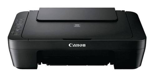 Impresora A Color Multifunción Canon Pixma Mg2510 Negra 220v