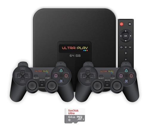 Ultra Play Box 16000 Jogos 64gb O Melhor Video Game Retrô
