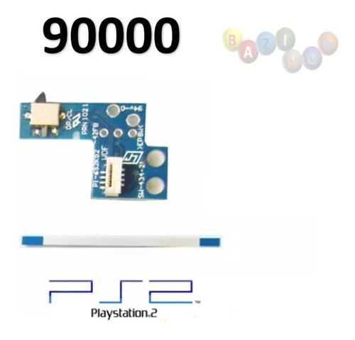 Botão Power Power/reset Modelo 70000 E 90000 Com Flat Ps2