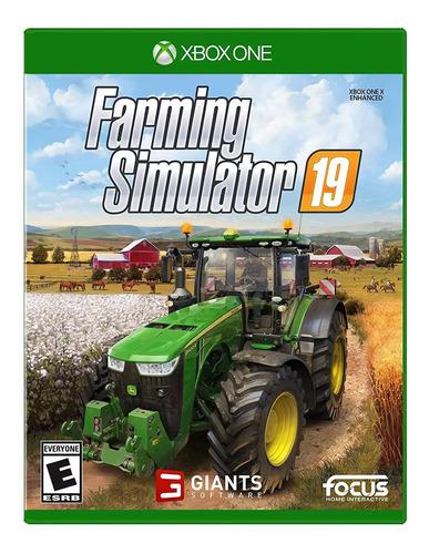 Farming Simulator 19 Standard Edition Maximum Games Xbox One Físico