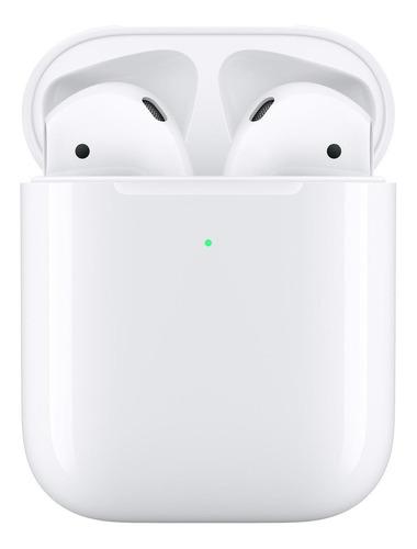 Fone De Ouvido Sem Fio Apple AirPods Com Case Sem Fio