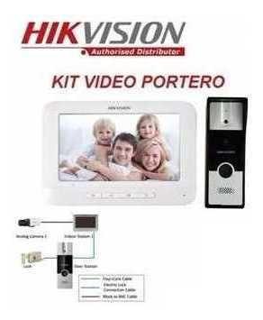 Video Portero Electrico Cámara Citofono Hikvision Con Iva
