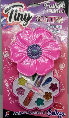 Set De Maquillaje Flor Tiny.