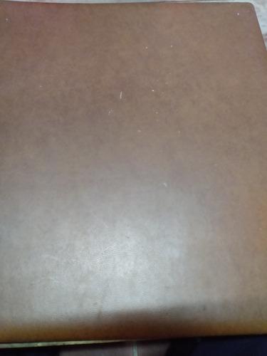 Carpeta O Álbum Antiguo Estampillas  Sir Rowland Hill