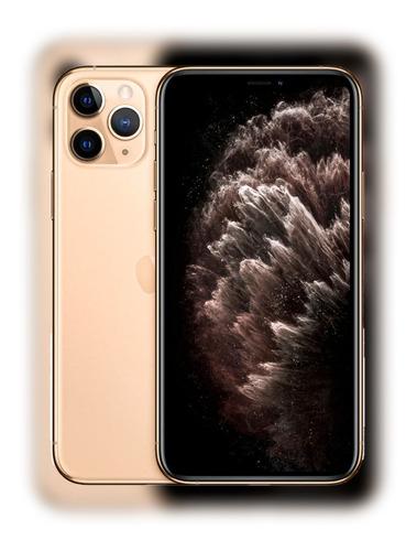 iPhone 11 Pro Max 64 Gb Dourado Vitrine+grantia+suporte