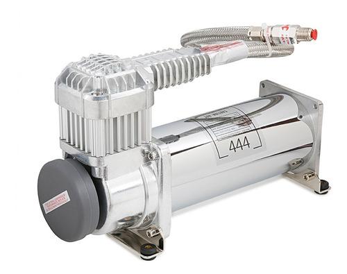 Compressor Para Suspensão A Ar Cromado 444c  200psi + Forte