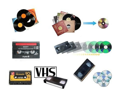 Conversão De Vhs Para Dvd Ou Mp4 - Ler Todo Anúncio
