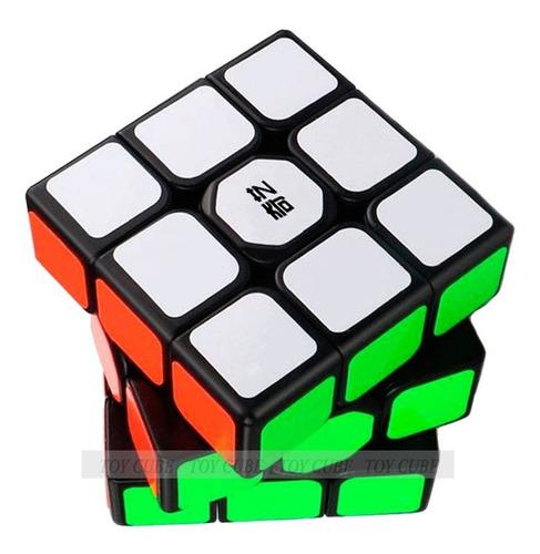 Cubo Mágico Profissional Qiyi 3x3x3 -  De Alta Velocidade