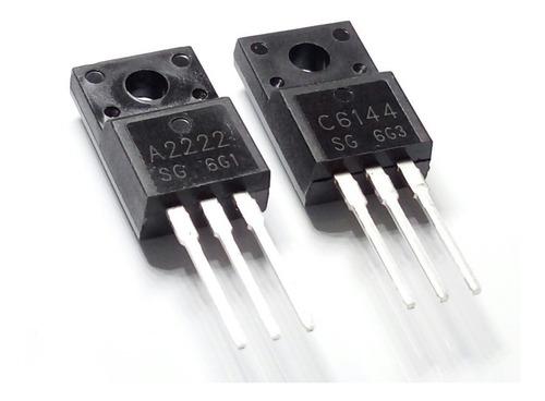 Pack Transistor 2sa2222 + 2sc6144 A2222 C6144 Impresora